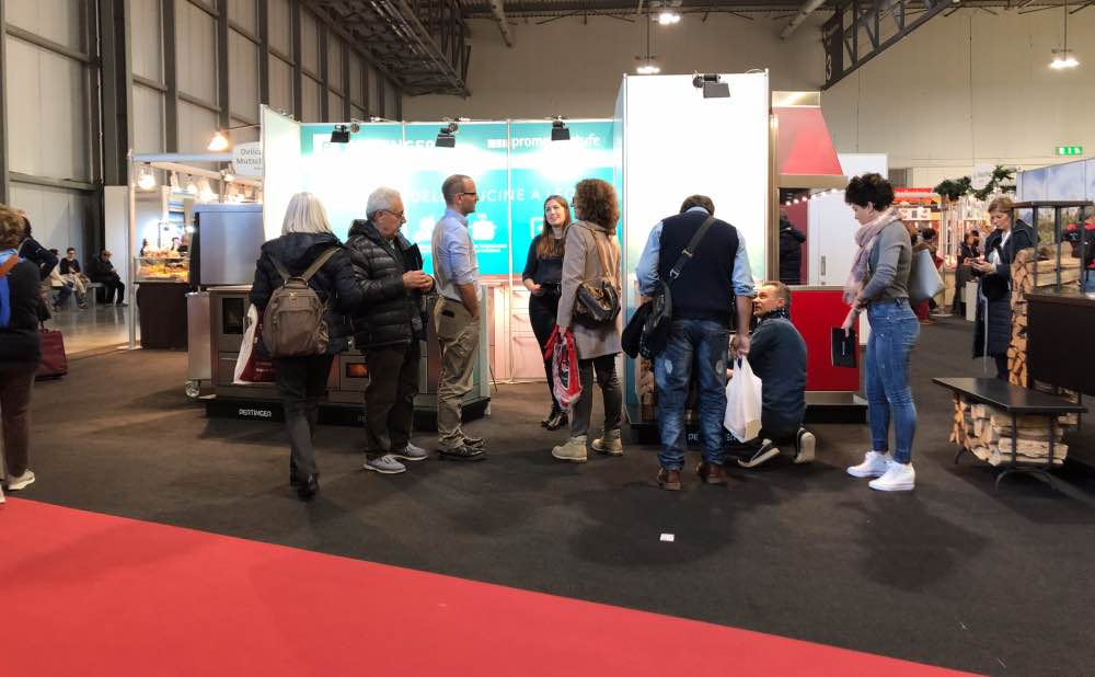 Prometeo Stufe e Pertinger all'Artigiano in fiera2018