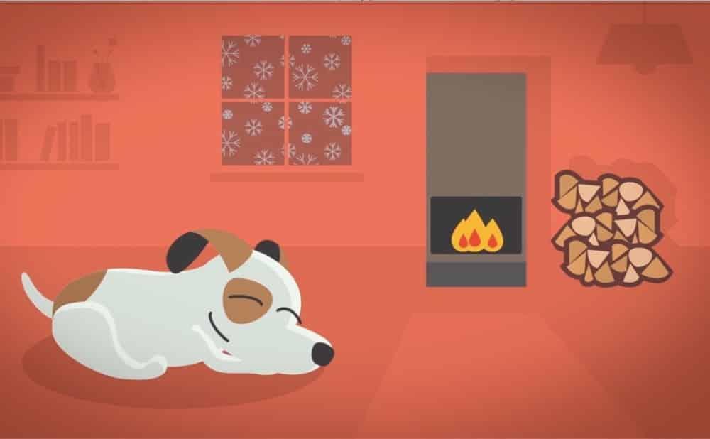 Vantaggi del calore radiante - Accumulo di calore